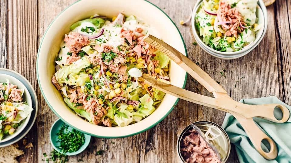 Eisberg-Mais-Salat