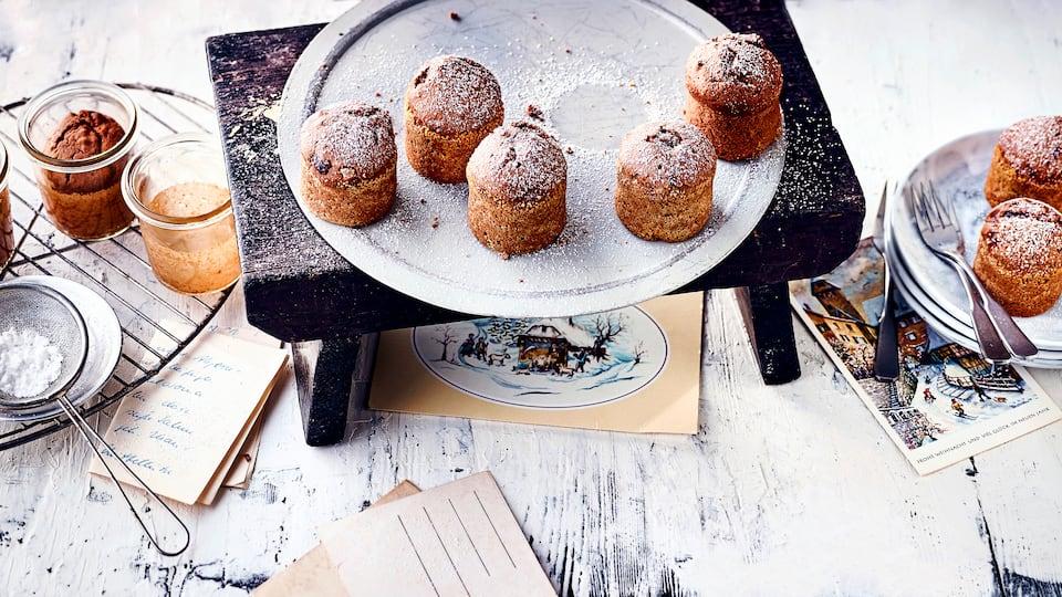 Mit unserem Rezept für Gewürzkuchen können Sie die Adventszeit einläuten. Die kleinen Kuchen duften und schmecken einfach herrlich.