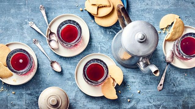 Apfel-Kirsch-Jasmin-Tee