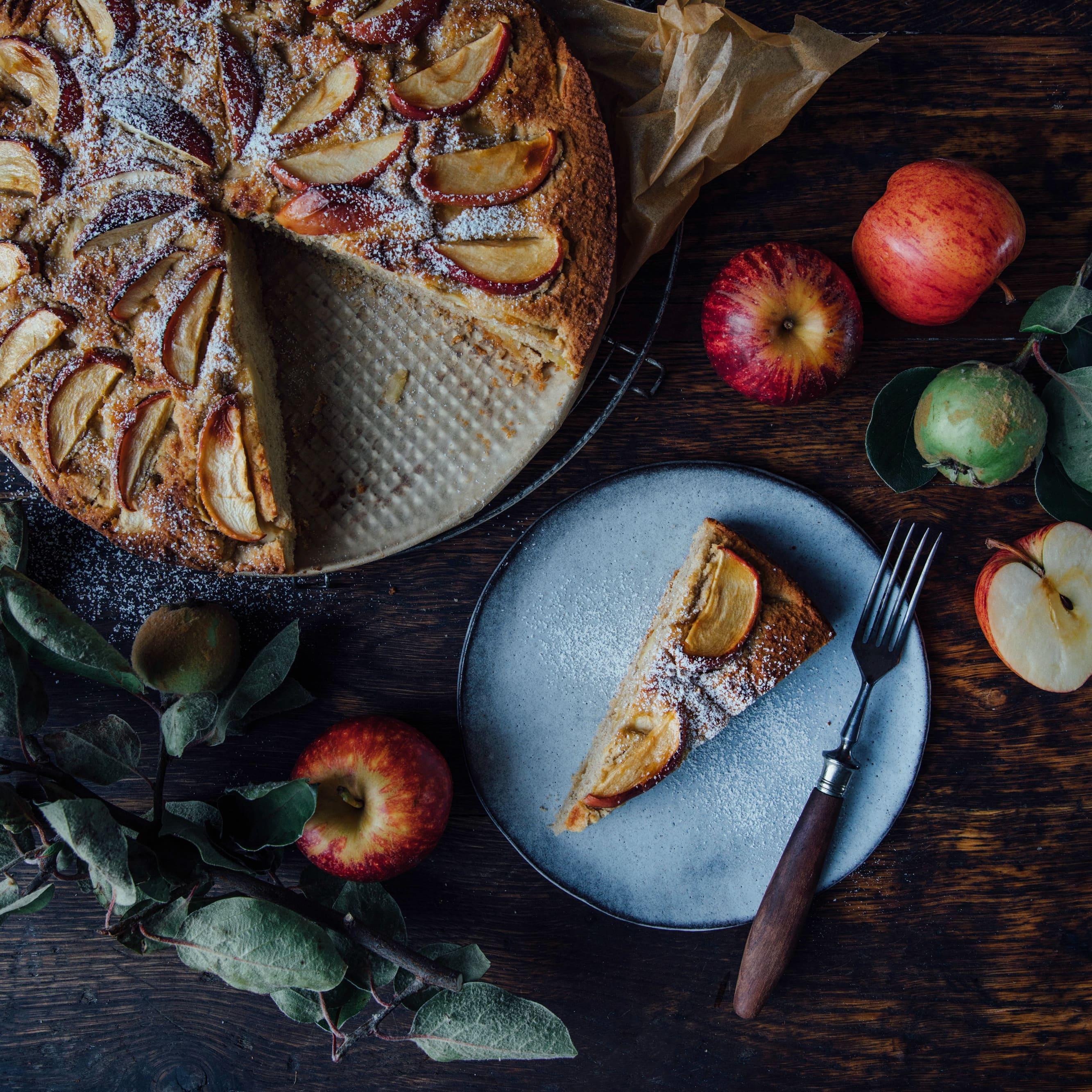 Apfel Kokosmehl Kuchen Rezept Edeka