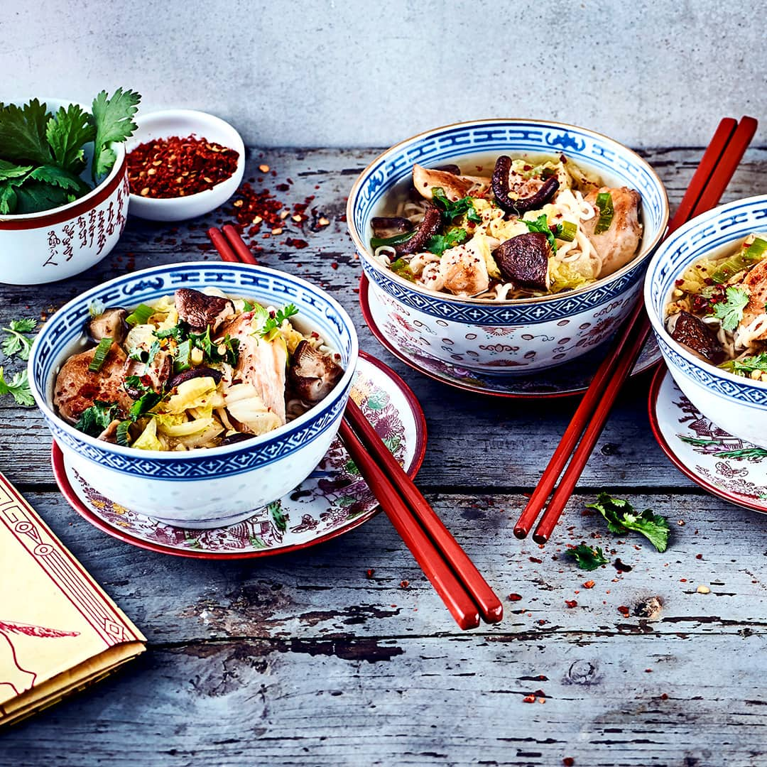 Asiatische Ramen-Suppe - Rezept | EDEKA