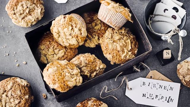 Birnen-Muffins