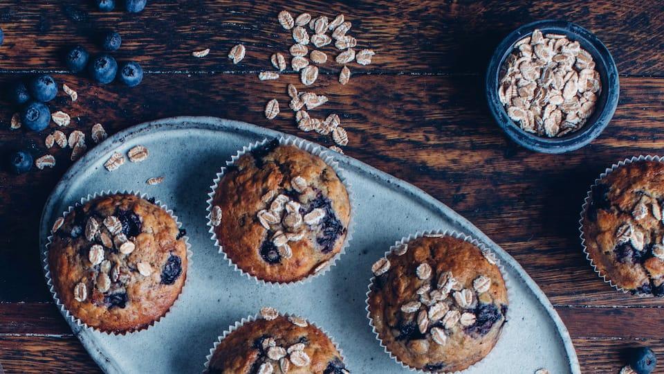 Blaubeer-Frühstücksmuffins