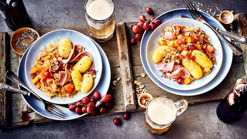 Buntes Sauerkraut