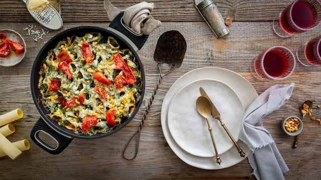 Cannelloni mit Bechamelsauce
