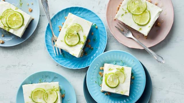 Cheesecake mit Limetten