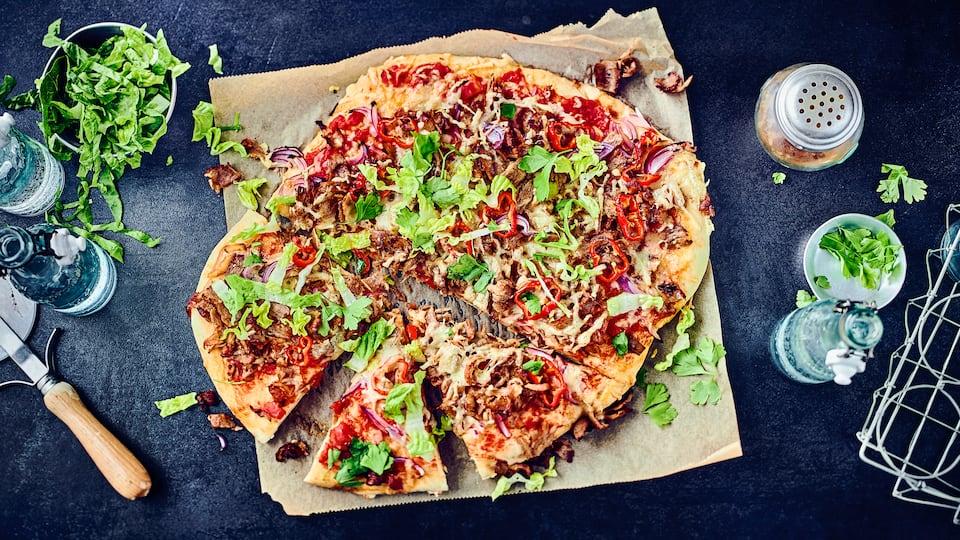 Doner Pizza Rezept