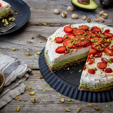Raw Cake mit Avocado