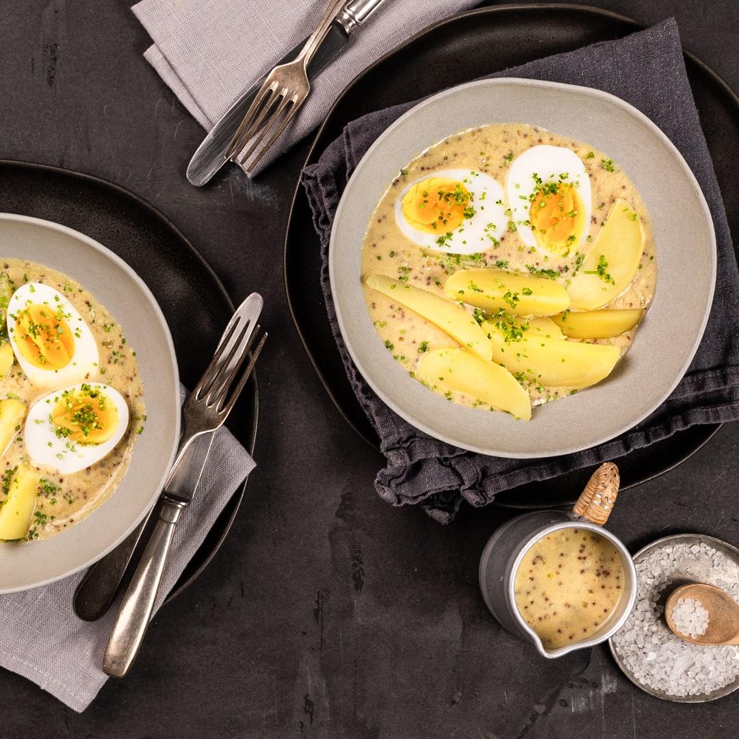 Eier in senfsauce rezept edeka - Eier kochen mittel ...