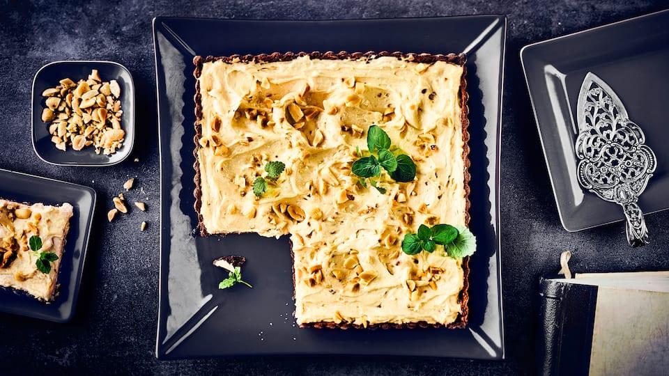Erdnuss-Torte