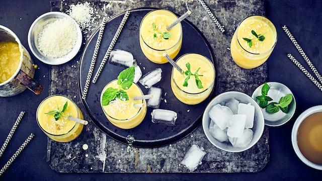 Ananas-Kokos-Cocktail
