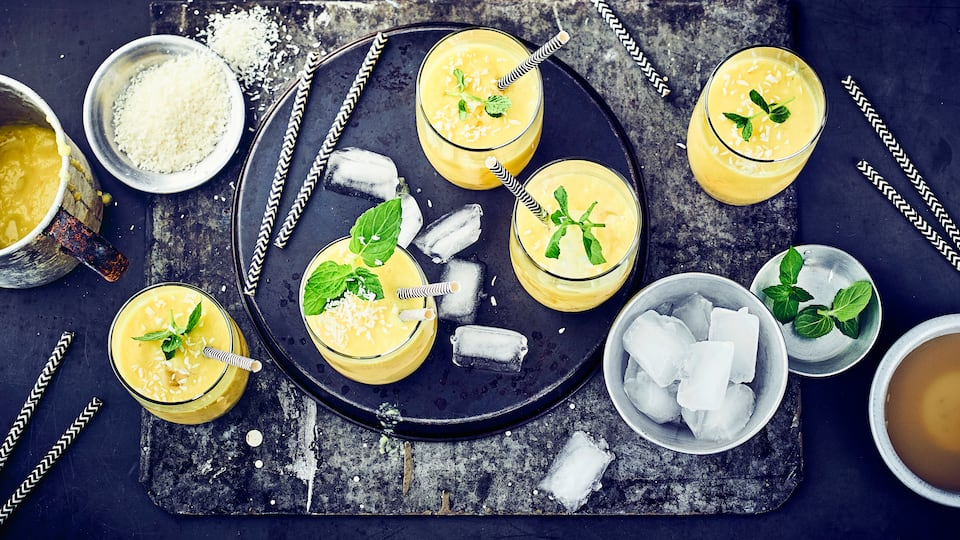 Ananas-Kokos-Cocktail