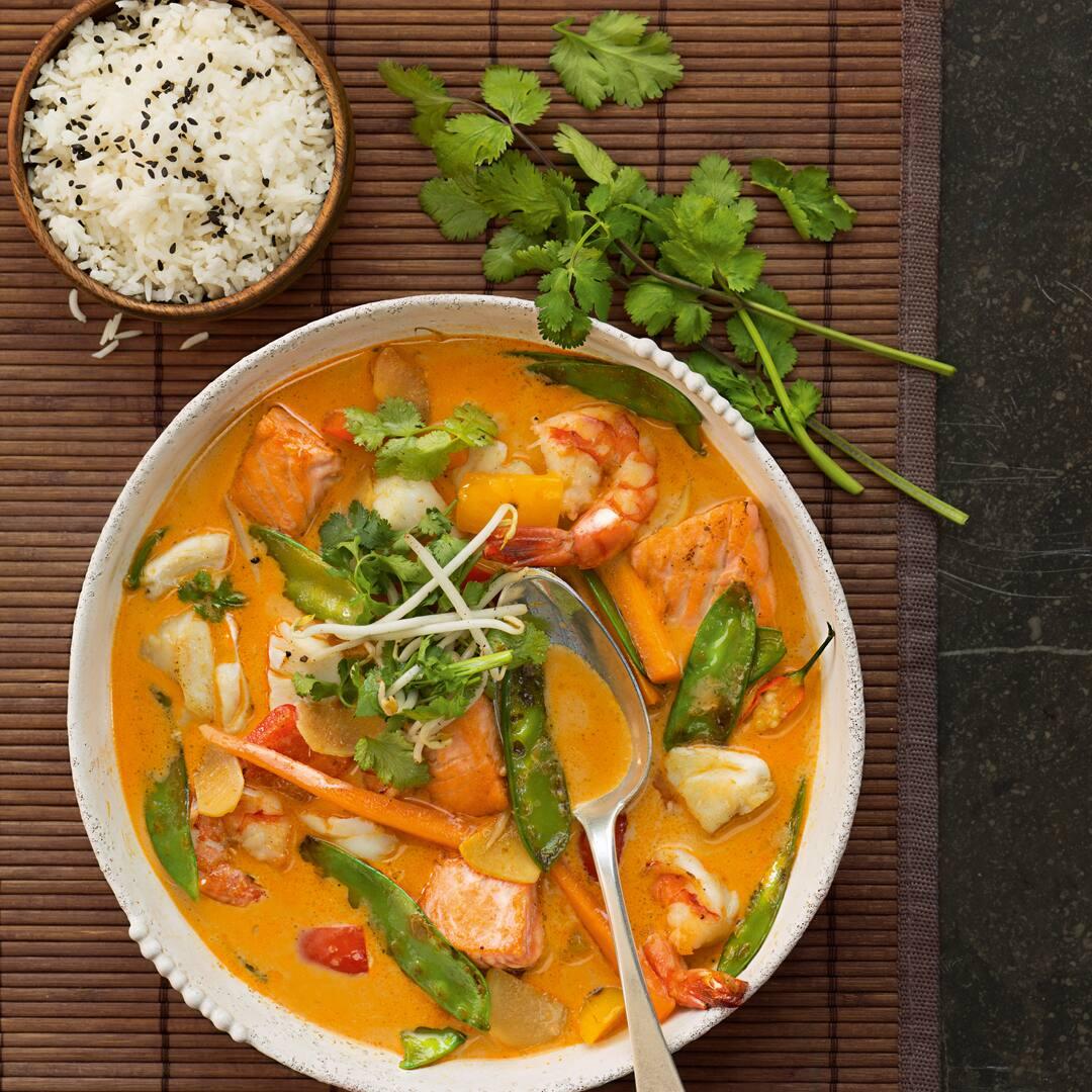 Fisch Curry Mit Gemüse Rezept Edeka