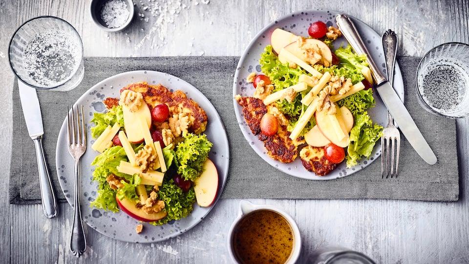 Fitness-Salat mit Rösti