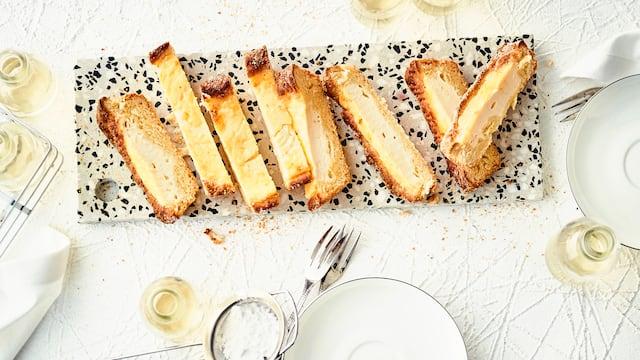 Französischer Zuckerkuchen