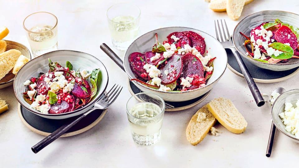 Griechischer Rote Bete Salat