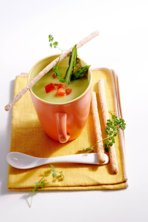 Gr ne spargelsuppe rezept edeka - Keramiktopfe zum kochen ...