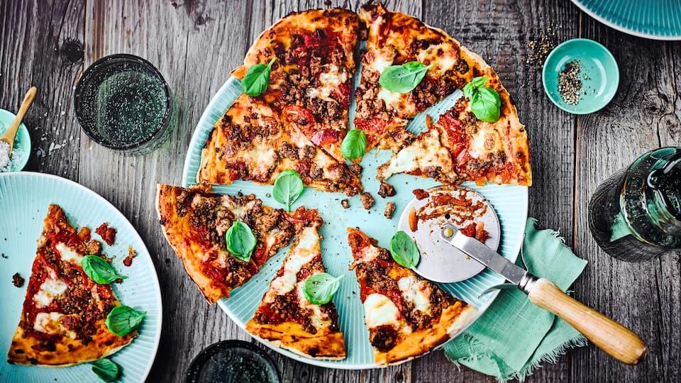 Hackfleischpizza Rezept
