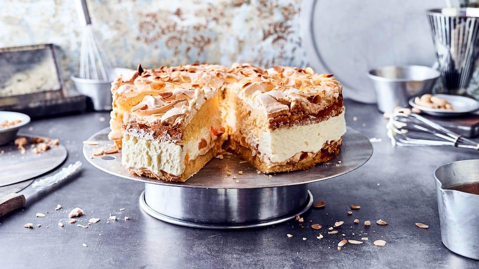 Diese Torte heißt nicht nur Himmelstorte sondern sieht auch noch fantastisch aus und schmeckt himmlisch lecker und ist luftig locker.