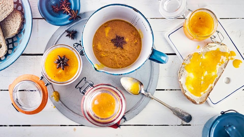 Mango-Maracuja-Aufstrich