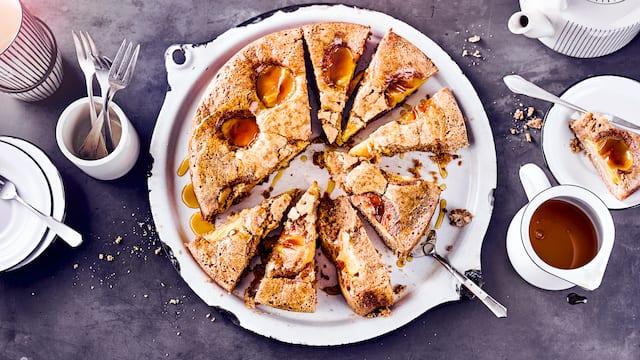Buchweizen-Apfelkuchen