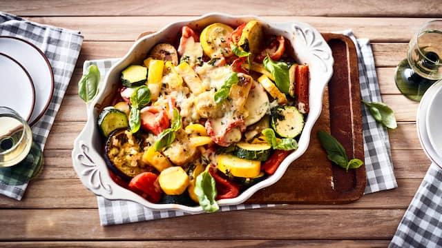 Italienisches Gemüsegratin