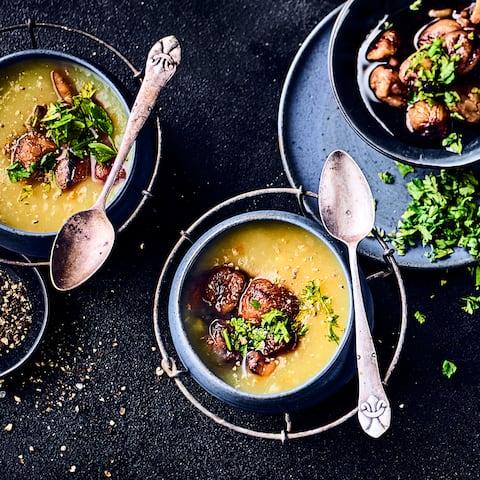 Käse Lauch Hack Suppe - Rezept | EDEKA