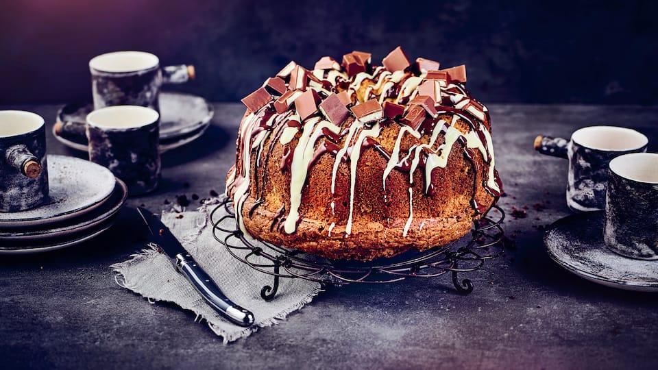 Was ist besser als ein Kinder-Schokolade-Riegel? Ganz viele Riegel in einem Kuchen gebacken! Unser Rezept für Kinder-Schokolade-Kuchen müssen Sie unbedingt zum nächsten Kindergeburtstag ausprobieren!