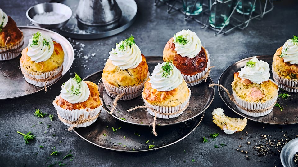 Lachs-Muffins