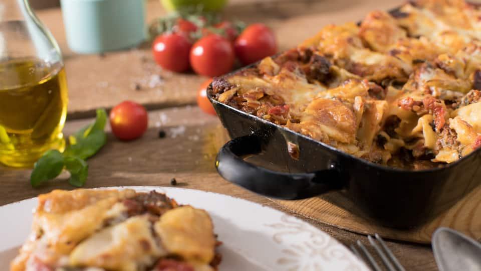 Lasagne mit Mangold