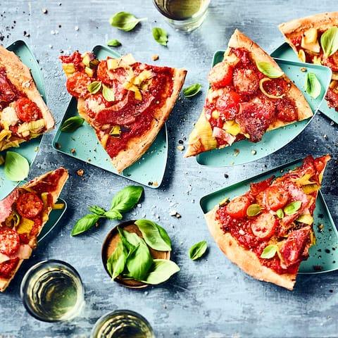 Pizza Mit Lauch Rezept Edeka
