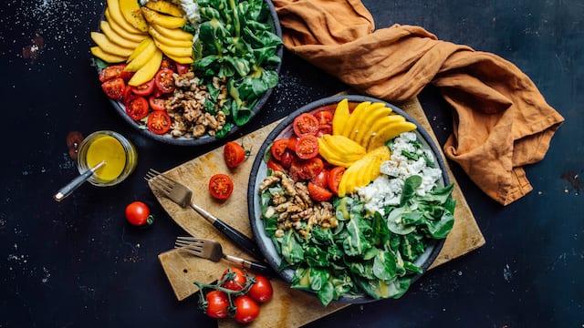 Mango-Feta-Salat