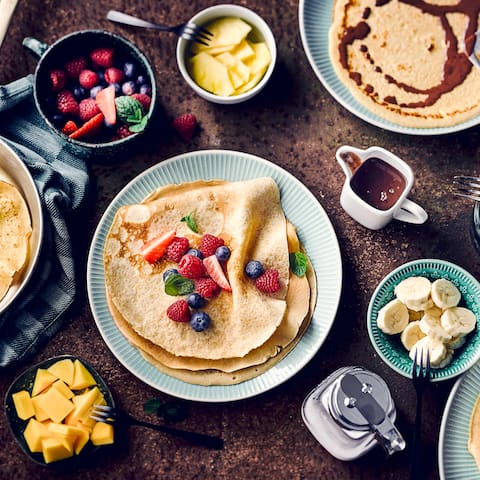 Eiweiß-Pancakes - Rezept | EDEKA