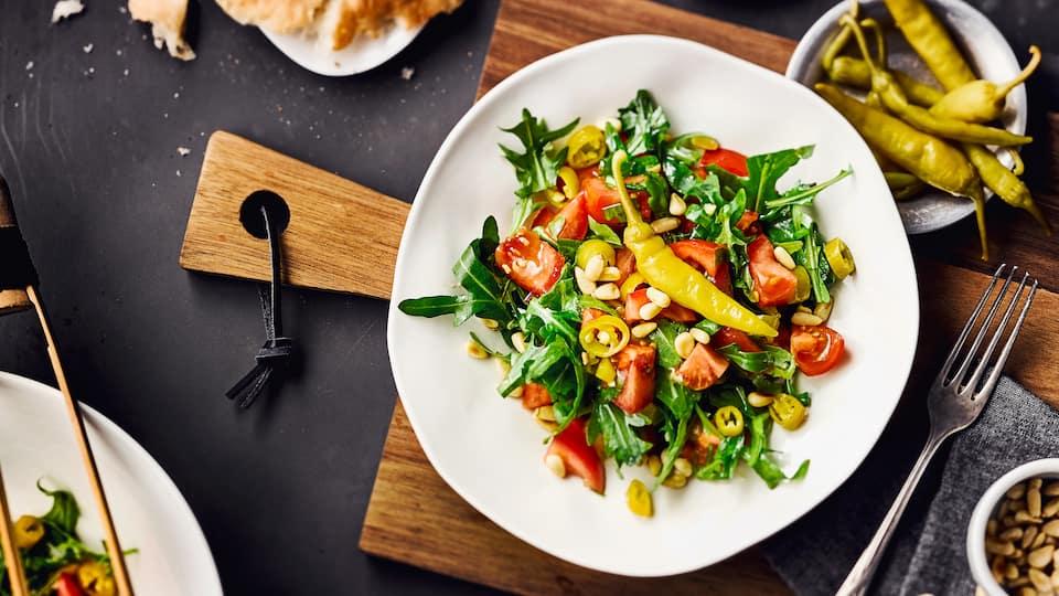 Pfefferonen Salat