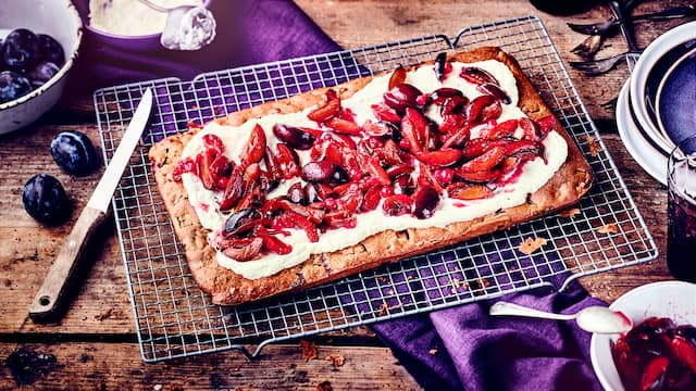 Pflaumen-Blechkuchen