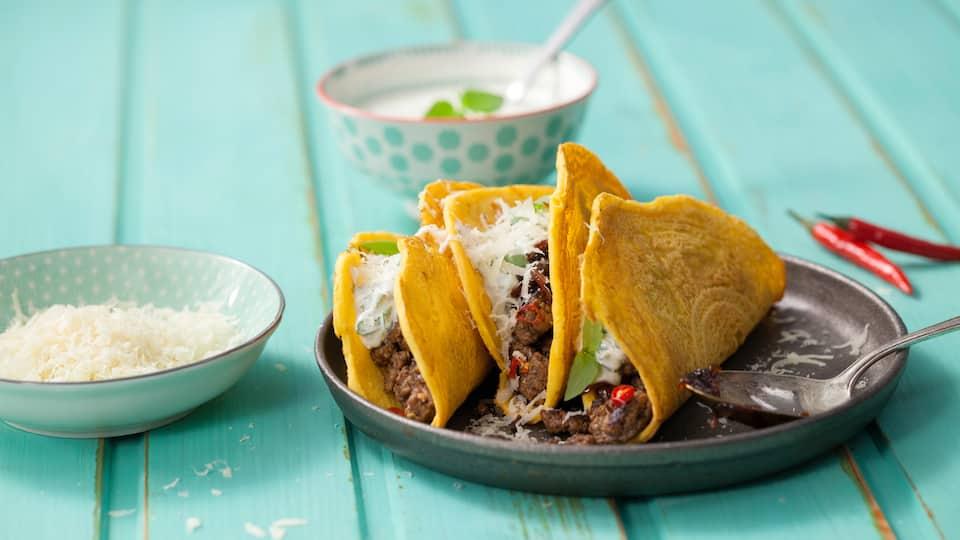 Rindfleisch-Tacos