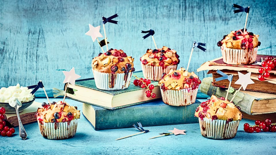 Herrlich fruchtig und ganz schnell zubereitet: Unsere schnellen Apfelmuffins sind ein Genuss!