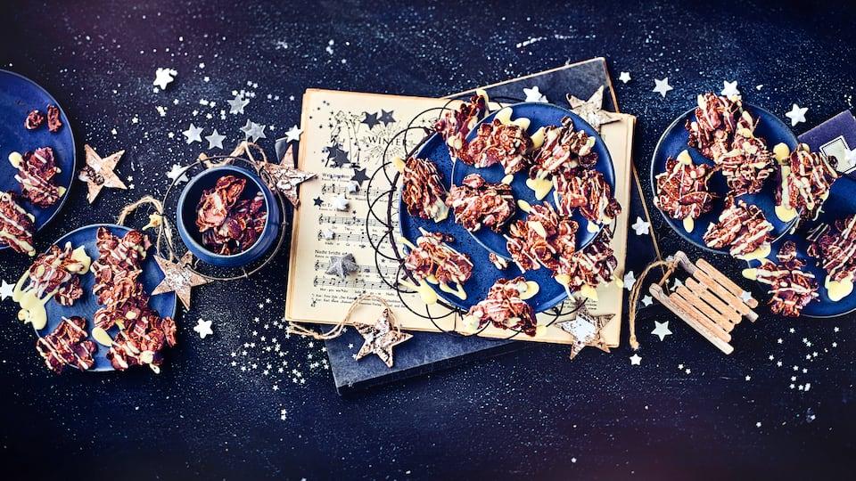 Trifft Schokolade auf Cornflakes entsteht eine krosse Leckerei mit Suchtpotenzial: Machen Sie mit unserem Rezept feine Schokocrossies selbst und knuspern Sie los!