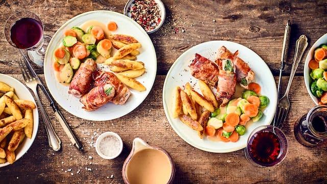 Schweinefilet-Saltimbocca