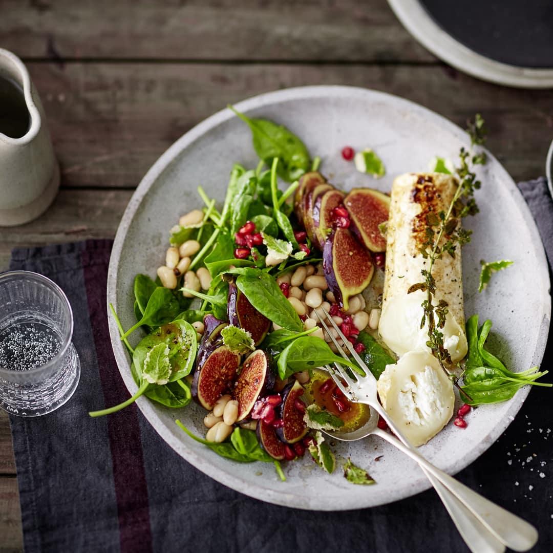 spinat salat mit ziegenk se rezept edeka. Black Bedroom Furniture Sets. Home Design Ideas