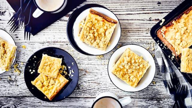 Streusel-Quarkkuchen