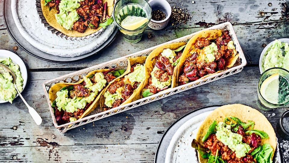 Tortillas mit Hackfleisch