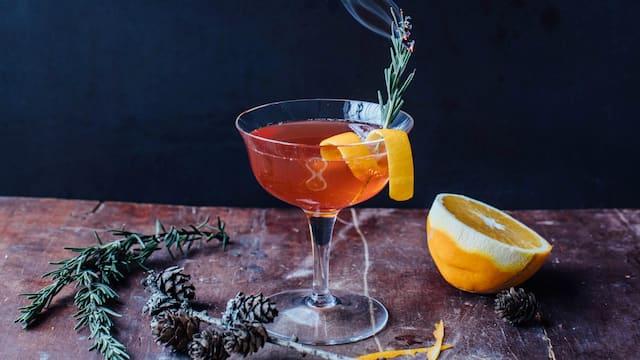 Weihnachts-Cocktail